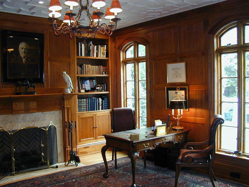 Custom Library Study room